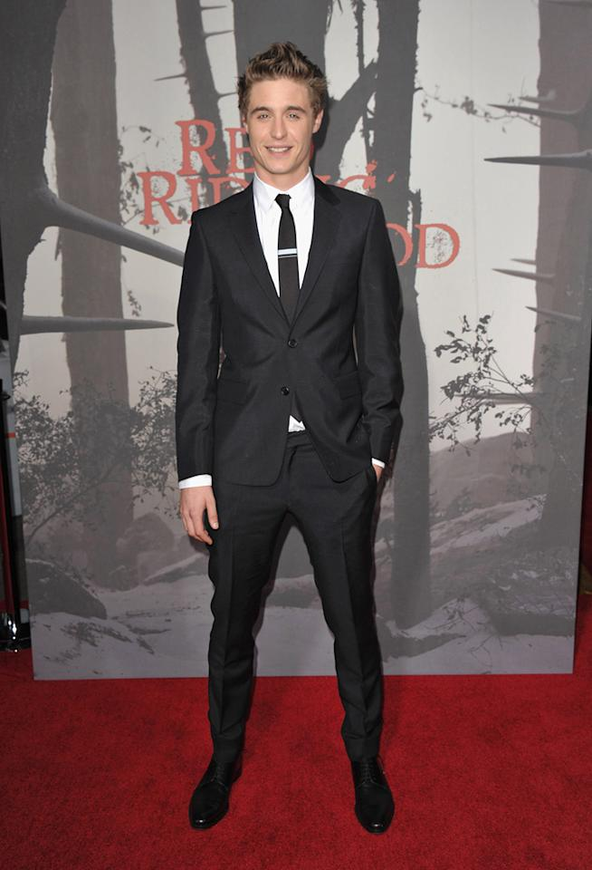 "<a href=""http://movies.yahoo.com/movie/contributor/1809692165"">Max Irons</a> at the Los Angeles premiere of <a href=""http://movies.yahoo.com/movie/1810157569/info"">Red Riding Hood</a> on March 7, 2011."