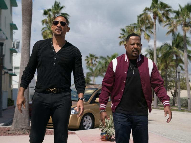 "Was erwartet Mike Lowrey (Smith, l.) und Marcus Burnett (Lawrence) in ""Bad Boys for Life""? (Bild: 2019 Sony Pictures Entertainment Deutschland GmbH)"