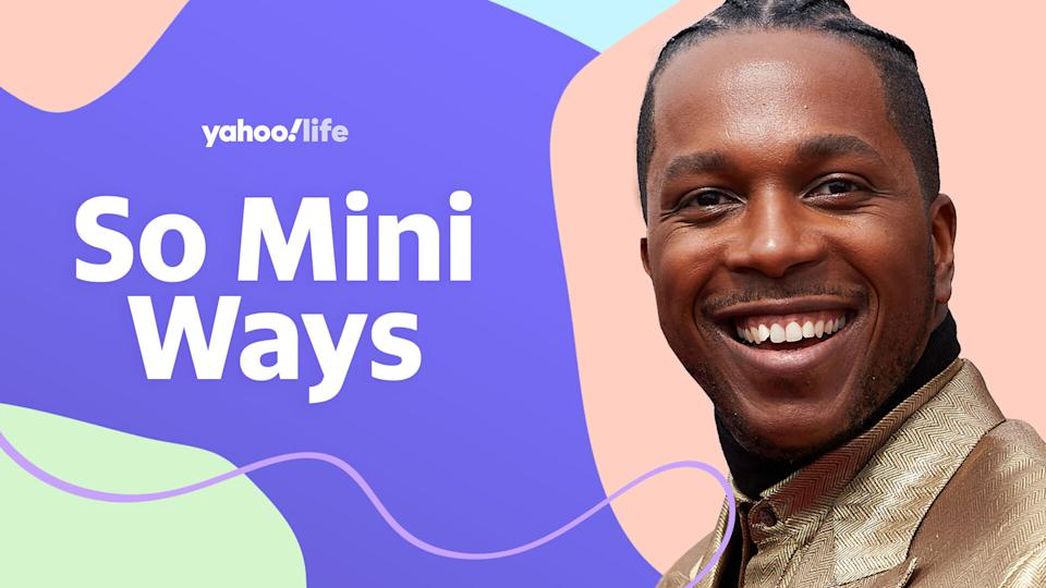Leslie Odom Jr. opens up about parenting. (Photo: Getty images; designed by Quinn Lemmers)