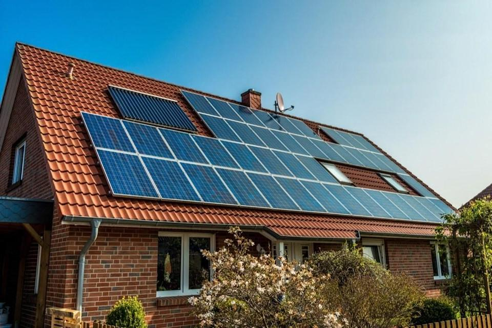 """Solar panels are absolutely an <a href=""""https://bestlifeonline.com/eco-friendly-home/?utm_source=yahoo-news&utm_medium=feed&utm_campaign=yahoo-feed"""" rel=""""nofollow noopener"""" target=""""_blank"""" data-ylk=""""slk:eco-friendly upgrade"""" class=""""link rapid-noclick-resp"""">eco-friendly upgrade</a>, but don't expect them to be a selling point for most buyers. """"The cost of the upgrade versus the raise in value often ends up in a loss of money,"""" says realtor <strong><a href=""""https://www.myhomestream.com/"""" rel=""""nofollow noopener"""" target=""""_blank"""" data-ylk=""""slk:Klaus Gonche"""" class=""""link rapid-noclick-resp"""">Klaus Gonche</a> </strong>of Fort Lauderdale, Florida. While they may lower your energy costs, it can take years to see the returns catch up with what you paid for the panels initially. If you want to do more for the planet without spending a pretty penny, try these <a href=""""https://bestlifeonline.com/eco-friendly-habits/?utm_source=yahoo-news&utm_medium=feed&utm_campaign=yahoo-feed"""" rel=""""nofollow noopener"""" target=""""_blank"""" data-ylk=""""slk:21 Ways to Help the Environment, Starting Right Now"""" class=""""link rapid-noclick-resp"""">21 Ways to Help the Environment, Starting Right Now</a>."""