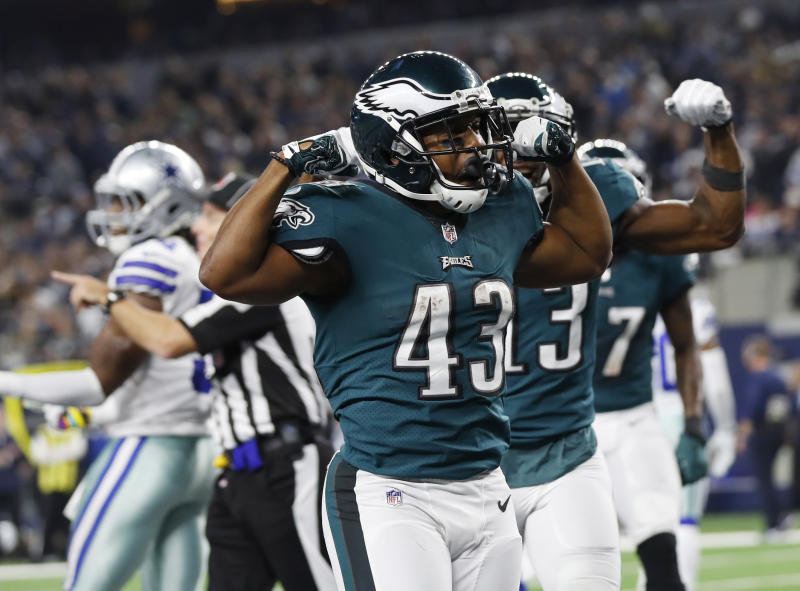 Philadelphia Eagles running back Darren Sproles (43) has been a key  contributor to his 023c8117a