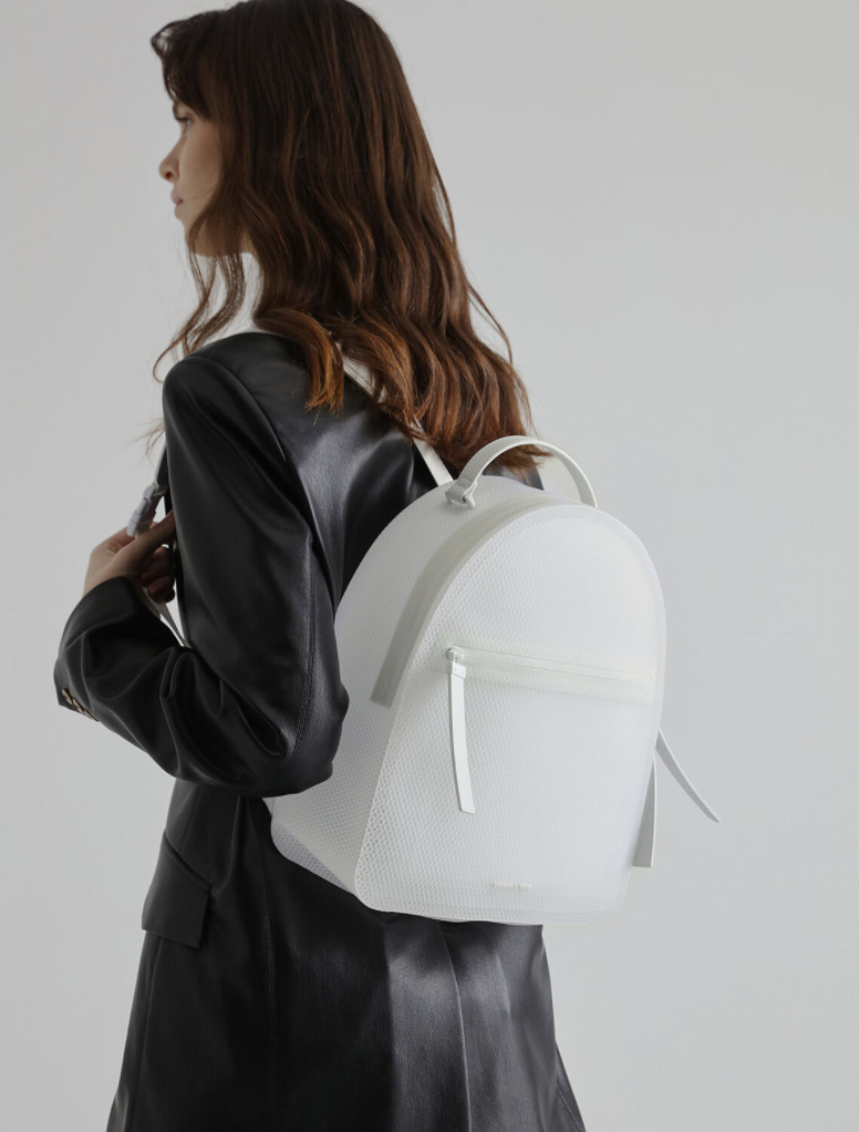 PHOTO: Charles & Keith. Front Zip Backpack, S$79.90 (was S$99.90)