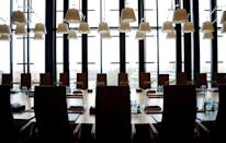 """The judges meeting room called """"Salle de deliberes"""" is seen at the European Court of Justice in Luxembourg January 26, 2017. Picture taken January 26, 2017. REUTERS/Francois Lenoir"""