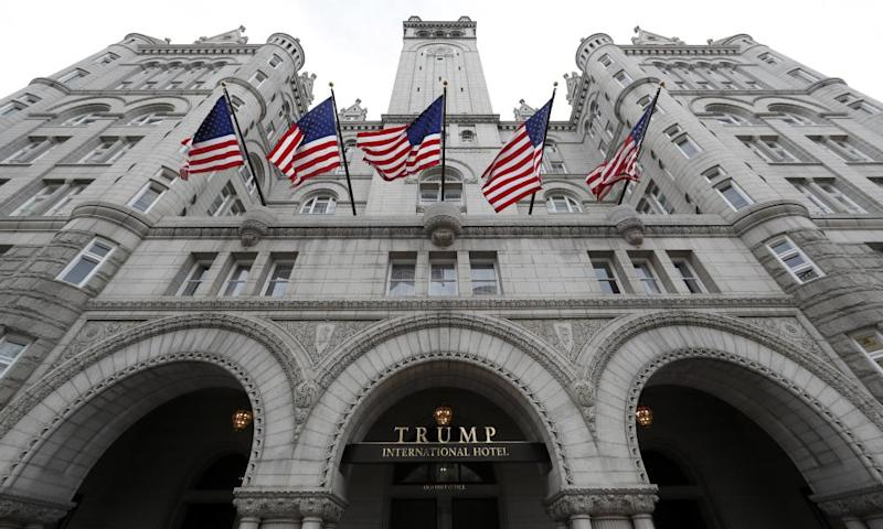 .The Trump International Hotel in Washington DC.