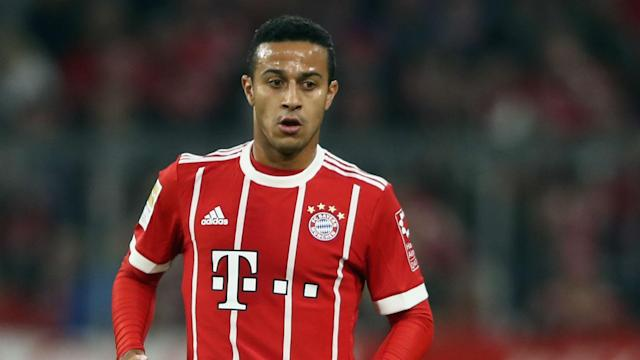 Jupp Heynckes has rested a number of Bayern Munich players ahead of the meeting with Besiktas, but Thiago Alcantara is back in the team.