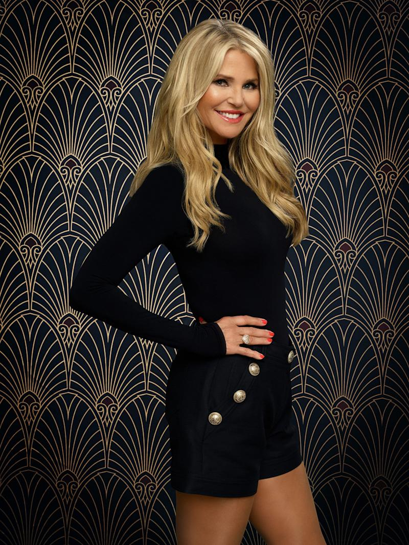 "Christie Brinkley's promo photo for ""Dancing With the Stars."" (Photo: Justin Stephens via Getty Images)"