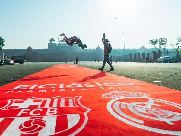 La Liga rolls out Red Carpet at Red Fort to build up hype for El Clasico