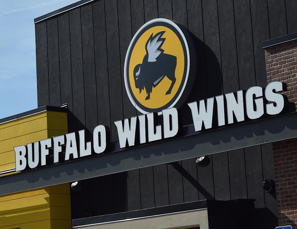 A Buffalo Wild Wings restaurant manager died and at least 10 people were hospitalized after being overcome with toxic fumes from a powerful cleaning agent. (Photo: Rick Diamond/Getty Images)