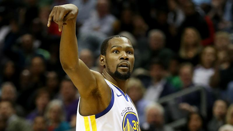Durant: Nothing odd about Warriors' 35-point loss