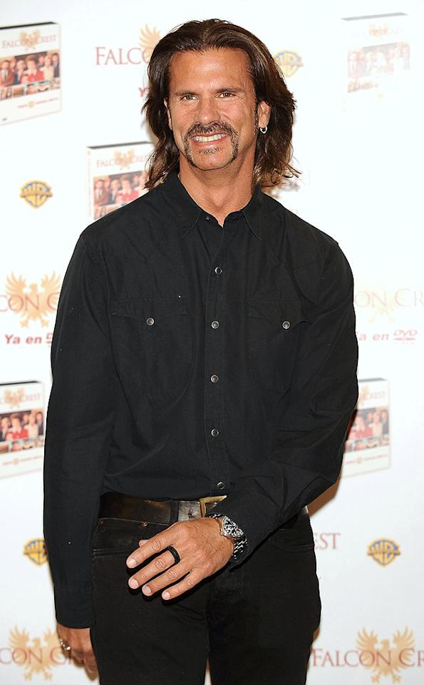 "Former ""Falcon Crest"" hunk Lorenzo Lamas promoted the recent DVD release of the soap opera while rocking a questionable coif and cheesy goatee. Carlos Alvarez/<a href=""http://www.gettyimages.com/"" target=""new"">GettyImages.com</a> - April 29, 2009"