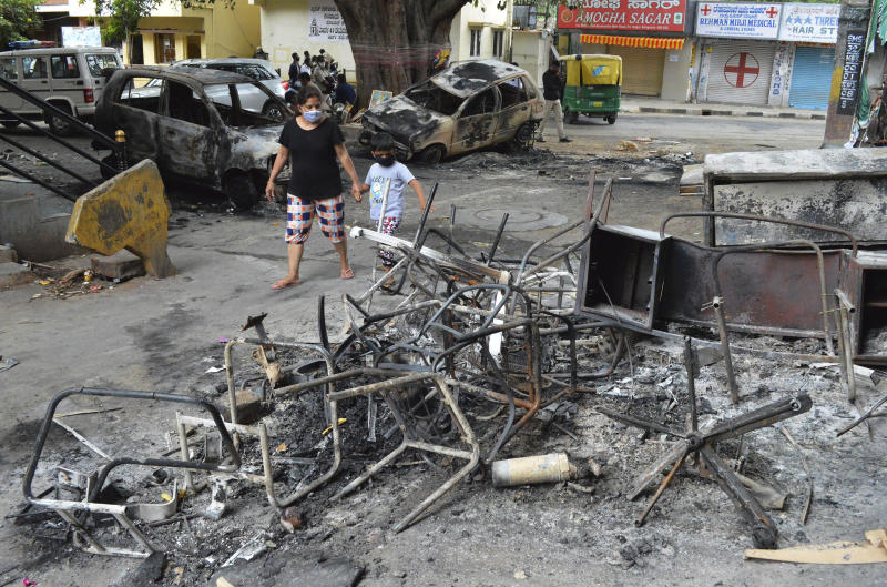 India Deadly Clashes