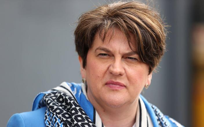 Arlene Foster has faced mounting criticism over her handling of the Northern Ireland Protocol - PA