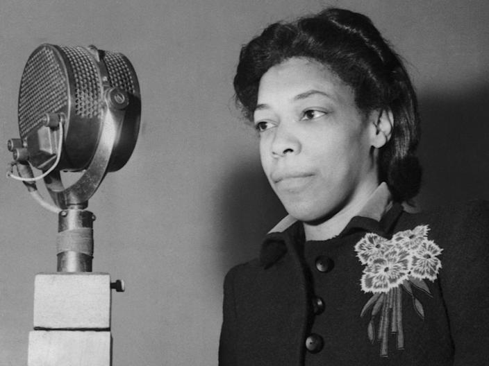 Una Marson was a black Jamaican activist, writer and broadcaster (Getty Images)