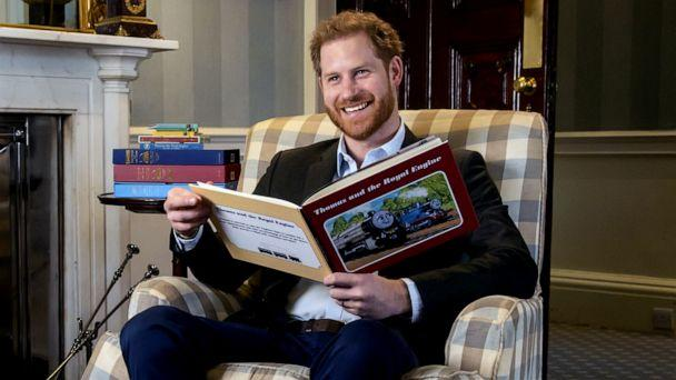 PHOTO: Prince Harry recorded an introduction to the new animated special 'Thomas & Friends: The Royal Engine.' (Mattel)