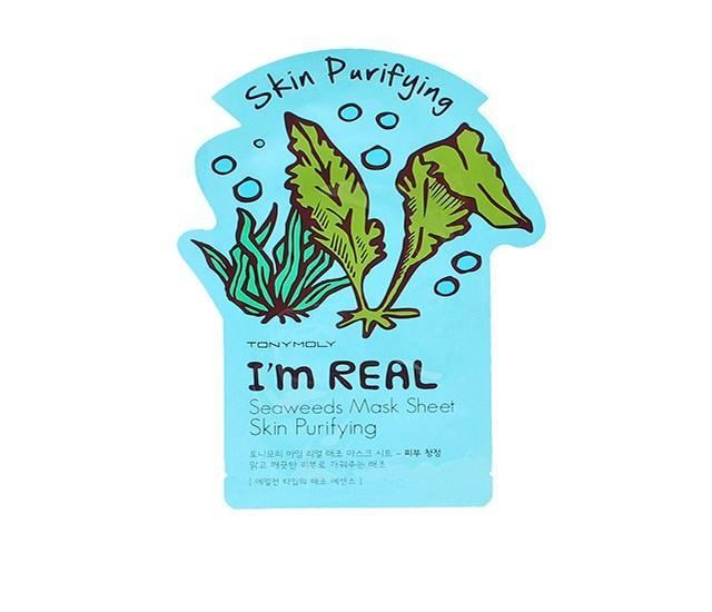 This sheet mask utilizes seaweed and other natural ingredients to help purify the skin. Tonymoly I'm Real Seaweeds Mask Sheet ($4)