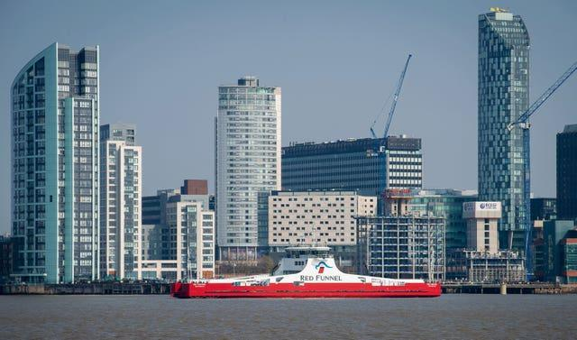 New Red Funnel ferry