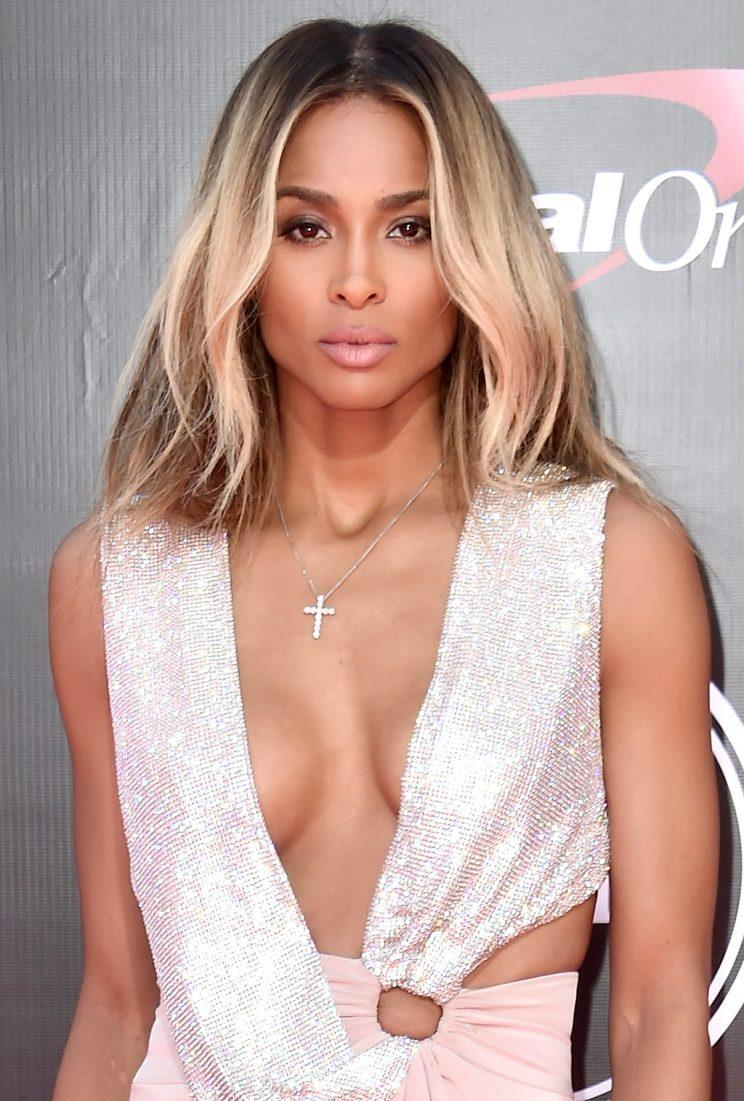 Ciara's red carpet game has been on point all year. (Photo by Alberto E. Rodriguez/Getty Images)