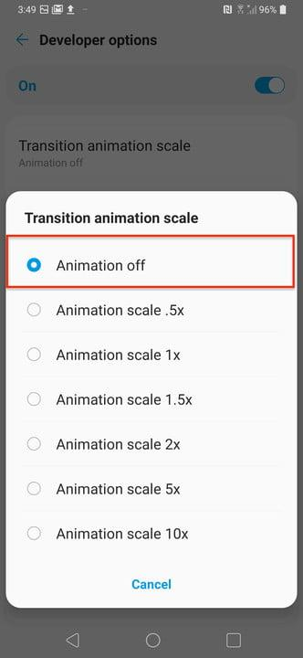 how to speed up your android phone animation7