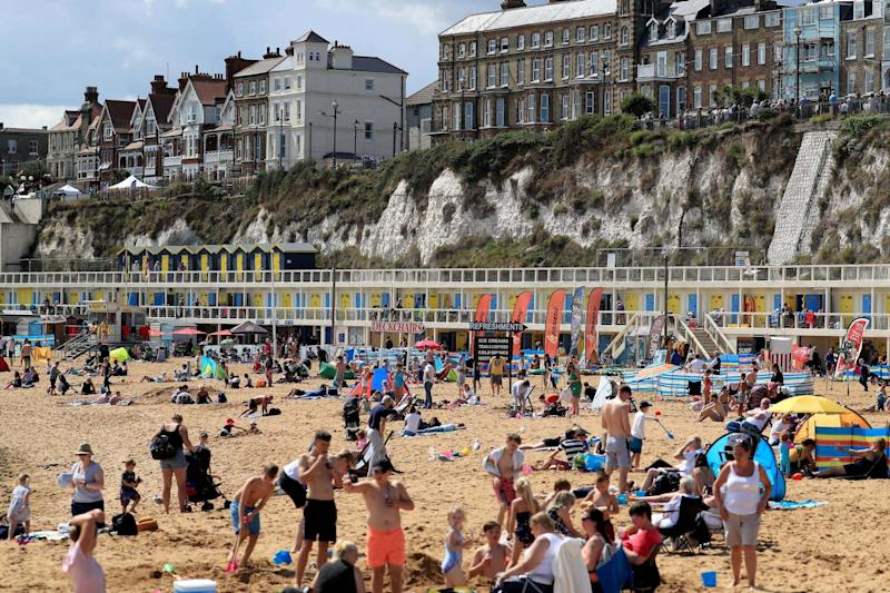 This weekend it could get warm enough to don the swimsuit and head down to the beach for one last hurrah before Autumn: PA