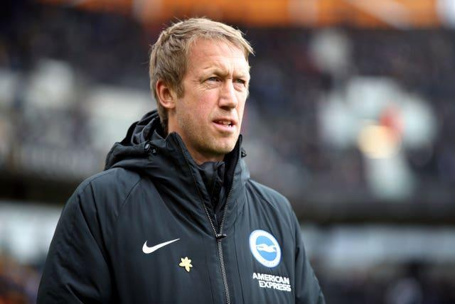 Brighton boss Graham Potter wants more clarity on the issue.