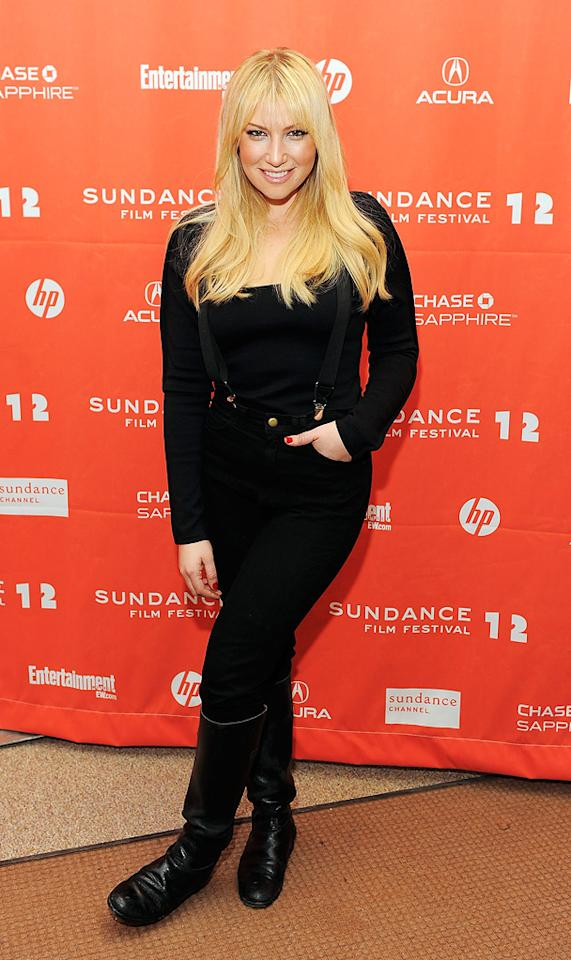 "Ari Graynor at the 2012 Sundance Film Festival premiere of ""For a Goof Time, Call ..."" on January 22, 2012."