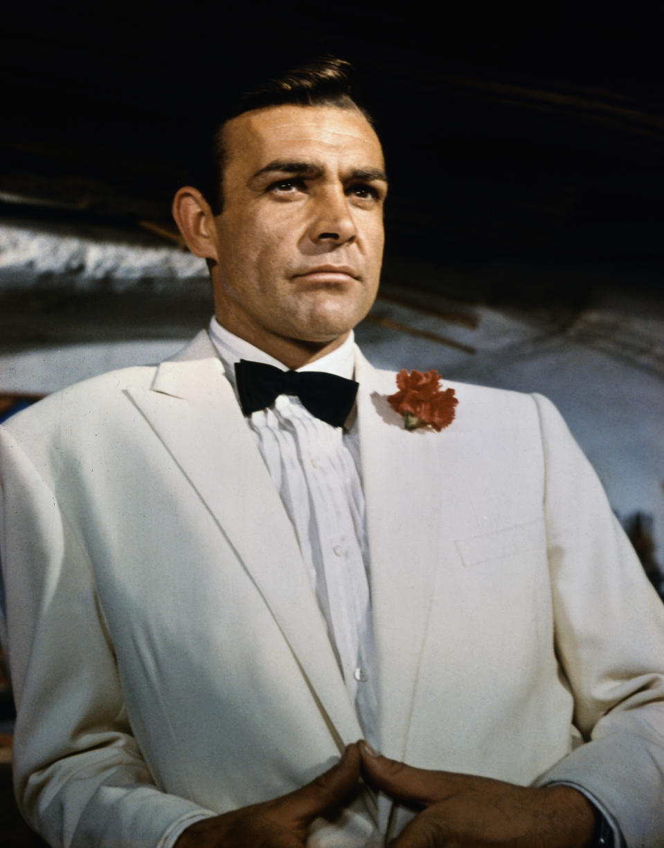 Sean Connery (pictured as James Bond in the film Goldfinger) died Oct. 31 at age 90.