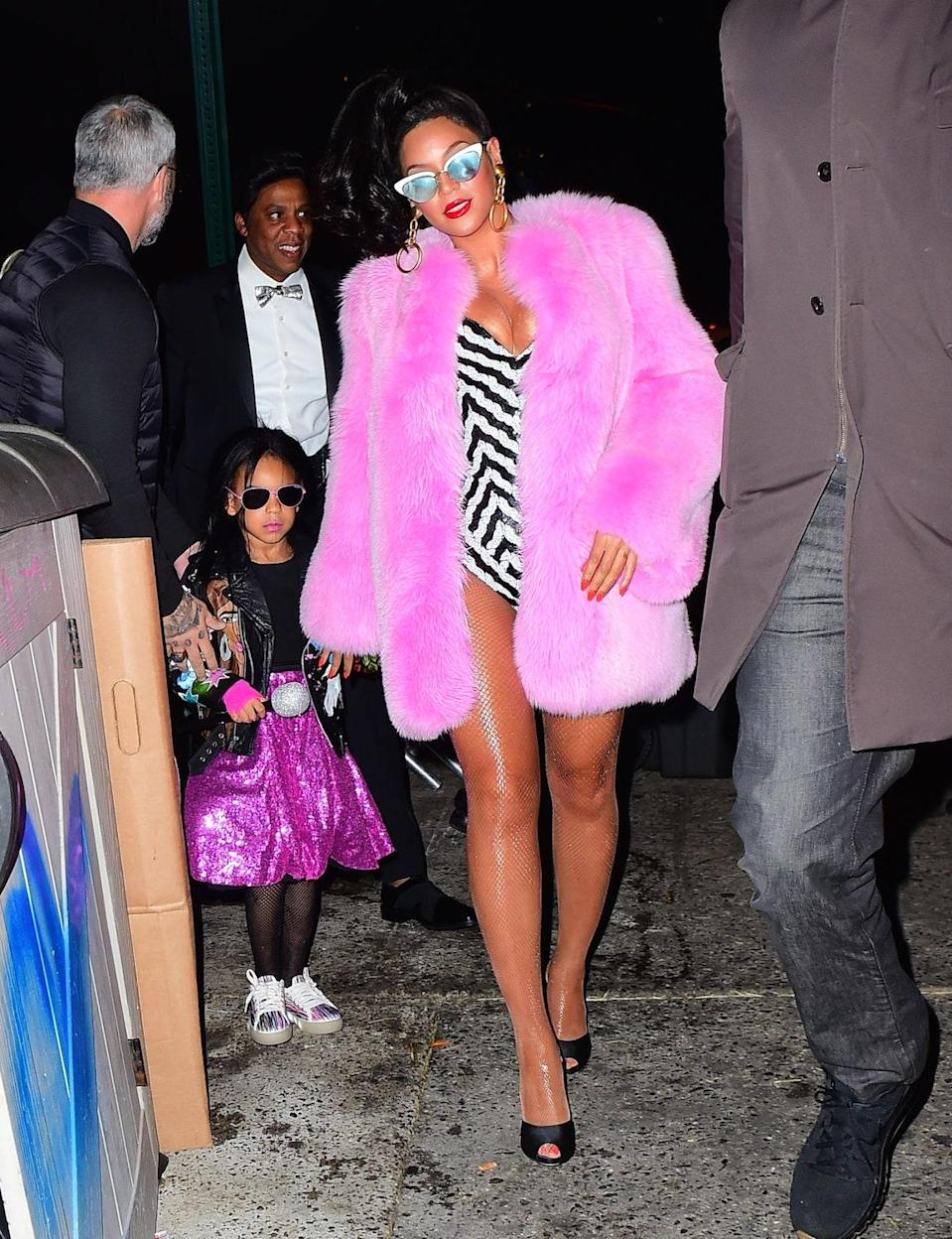 Of course, the Knowles-Carter family goes all out for Halloween.