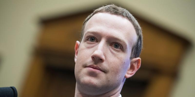Facebook CEO Mark Zuckerberg Testifies Before Congress