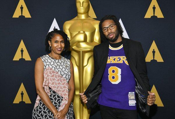 Former star NFL Matthew Cherry has made no secret of his admiration for Kobe Bryant, as he seeks to become the second professional sportsman to win an Oscar, after the basketball great, in Los Angeles this weekend