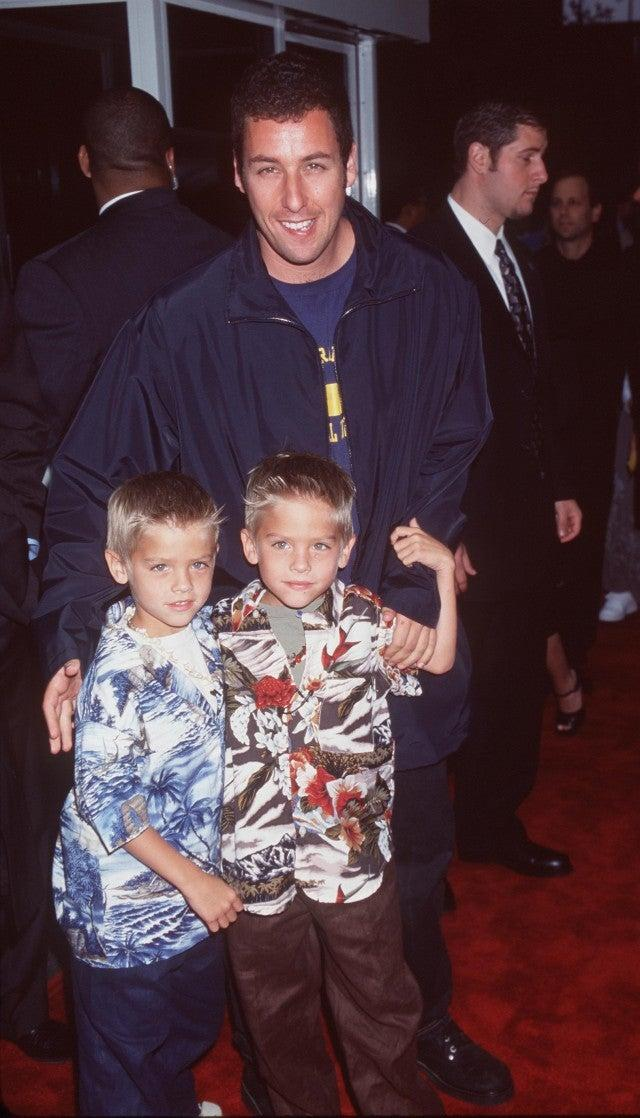 Adam Sandler, Dylan Sprouse, Cole Sprouse
