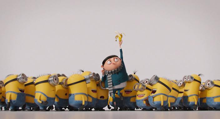 """Minions: The Rise of Gru."""