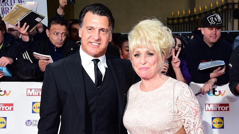 Scott Mitchell and Dame Barbara Windsor (PA Images)