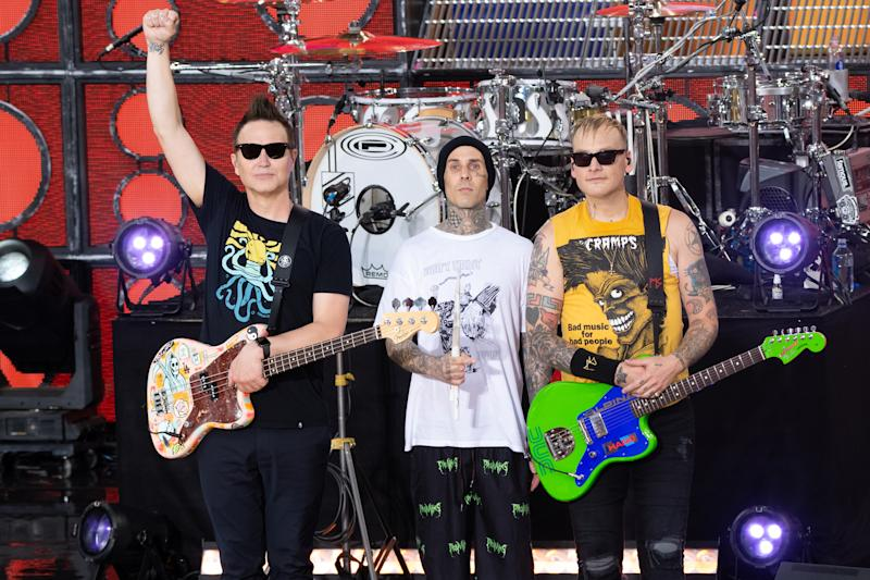 Blink 182 I Won T Be Home For Christmas.Hear Blink 182 S New Breakup Track I Really Wish I Hated You