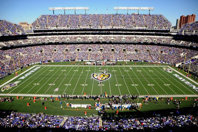 Ravens fans will reportedly see an increased police presence around M&T Bank Stadium in the near future. (Mitchell Layton/Getty Images)