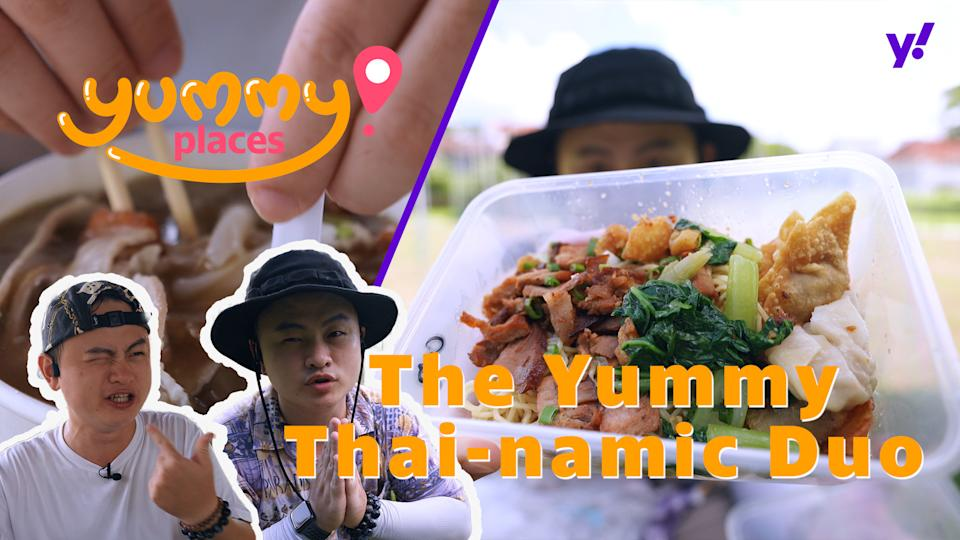 Thai food with Yummy Places