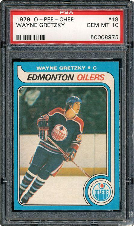 The 1979-1980 O-Pee-Chee Gretzky rookie card