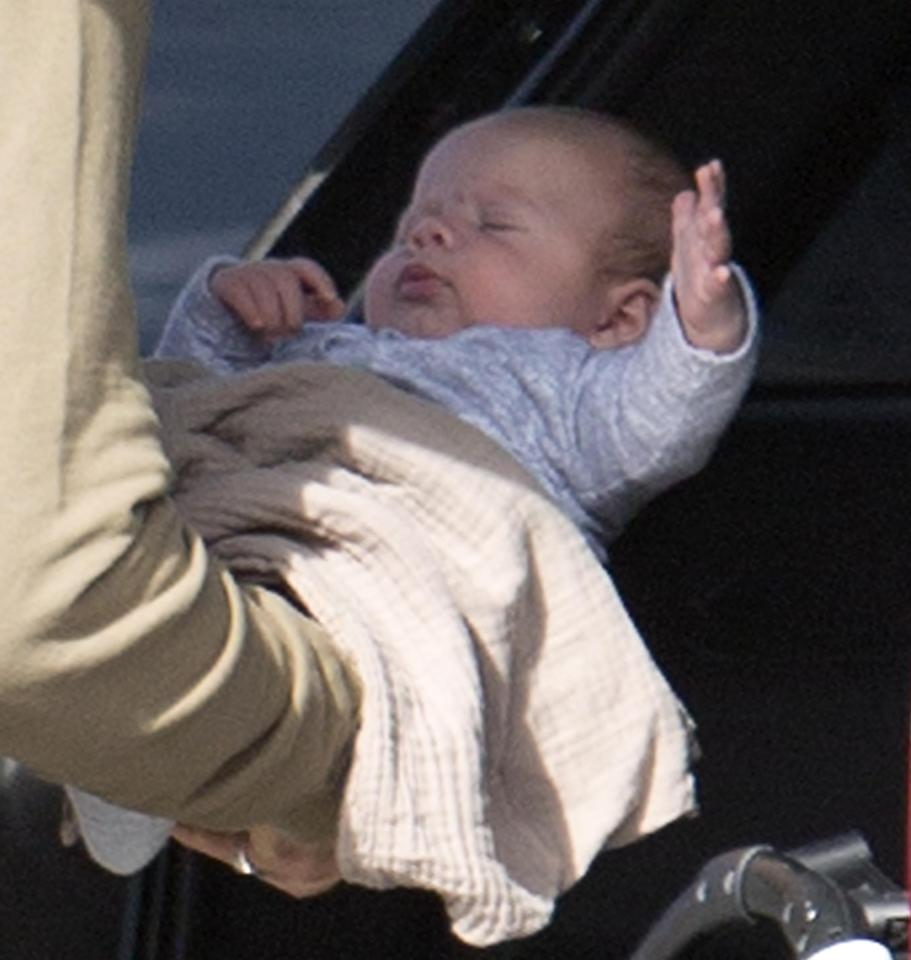 <p>Tessa James and husband Nate Myles' adorable bundle of joy has been pictured for the first time.</p>
