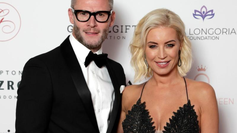 Eddie Boxshall and Denise Van Outen opened up about their relationship on White Wine Question Time (Getty)