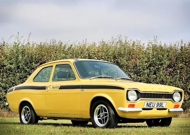 Ford And Ford Auction >> Buy This Genuine Ford Escort Mk1 Mexico At Auction