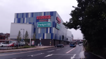 <p>Redrock Stockport, Manchester, by BDP. £45m leisure centre with a 10-screen cinema, restaurants, bars, shops and a 340-space multi-storey car park. </p>