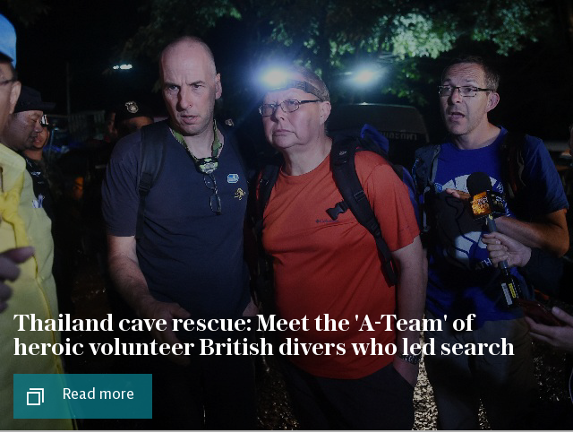 Thailand cave rescue: Meet the heroic volunteer British divers who are the best in the world