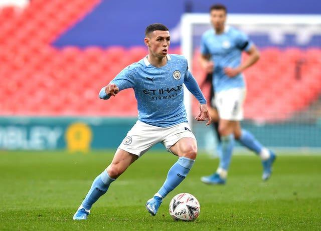 Foden has been outstanding in recent weeks