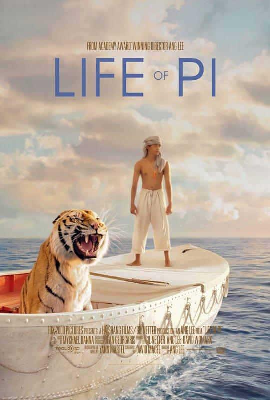 <p><strong>Life of Pi</strong></p>