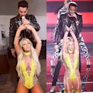 "<p>Britney's whole look from this 2016 VMA performance is the best way to show off your curves. Besides, who wouldn't want to wear those boots?</p><p><strong>What You'll Need:</strong><em> In My Element Bodysuit, $25, FashionNova</em></p><p><a class=""link rapid-noclick-resp"" href=""https://www.fashionnova.com/products/in-my-element-cut-out-bodysuit-lime?variant=12200242249852&flow_enabled=false"" rel=""nofollow noopener"" target=""_blank"" data-ylk=""slk:SHOP NOW"">SHOP NOW</a></p><p><a href=""https://www.instagram.com/p/B4L_OU8Basa/"" rel=""nofollow noopener"" target=""_blank"" data-ylk=""slk:See the original post on Instagram"" class=""link rapid-noclick-resp"">See the original post on Instagram</a></p>"