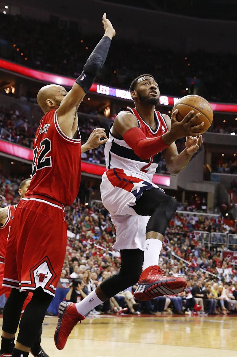 Up 3-1, Wizards look to finish off Bulls