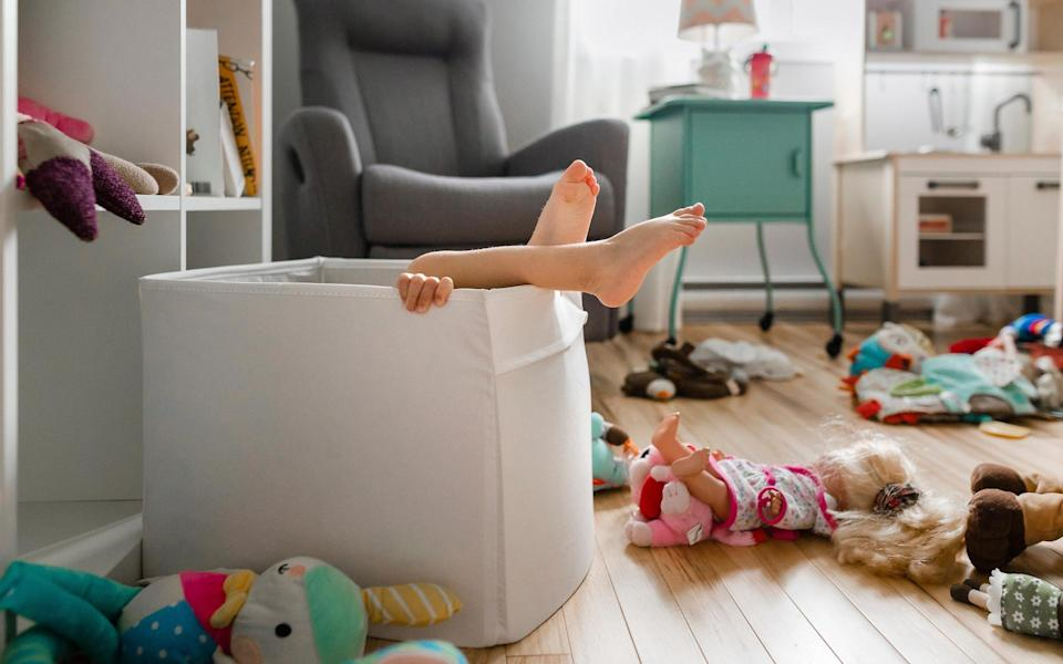 toys on the floor mess - Getty Images