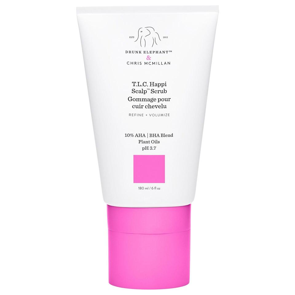 """<p><strong>Drunk Elephant</strong></p><p>sephora.com</p><p><strong>$36.00</strong></p><p><a href=""""https://go.redirectingat.com?id=74968X1596630&url=https%3A%2F%2Fwww.sephora.com%2Fproduct%2Fdrunk-elephant-t-l-c-happi-scalp-scrub-P457205&sref=https%3A%2F%2Fwww.townandcountrymag.com%2Fstyle%2Fg2095%2Fmothers-day-gift-ideas%2F"""" rel=""""nofollow noopener"""" target=""""_blank"""" data-ylk=""""slk:Shop Now"""" class=""""link rapid-noclick-resp"""">Shop Now</a></p><p>Upgrade her haircare routine with Drunk Elephant's luxe scalp scrub developed by Jennifer Aniston's mane man Chris McMillan.</p>"""