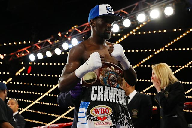 Terence Crawford is fighting on HBO PPV ON Saturday night vs. Viktor Postol (Getty Images)