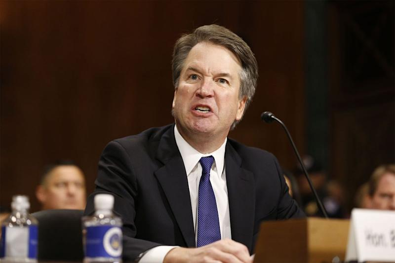 Image result for kavanaugh angry