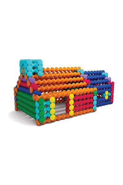 """<p>$25 for 150 pieces</p><p><a rel=""""nofollow noopener"""" href=""""https://www.amazon.com/Popular-Playthings-Playstix-150-pieces/dp/B004QGUGY4/ref=sr_1_2"""" target=""""_blank"""" data-ylk=""""slk:SHOP NOW"""" class=""""link rapid-noclick-resp"""">SHOP NOW</a></p><p>Lincoln logs are so yesterday. These colorful foam pieces are all the rage now and fit together to make a variety of fun creations.</p>"""